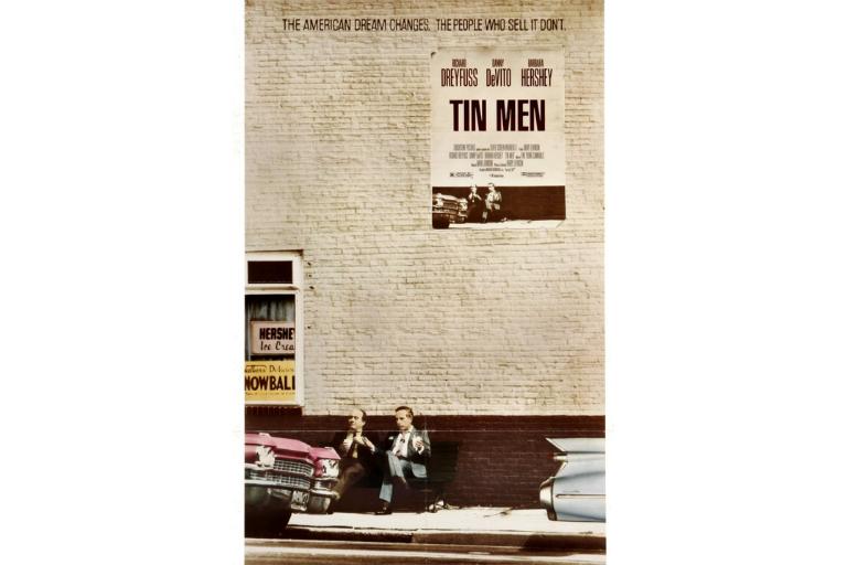Tin Men, starring Richard Dreyfuss, Danny DeVito, Barbara Hershey.
